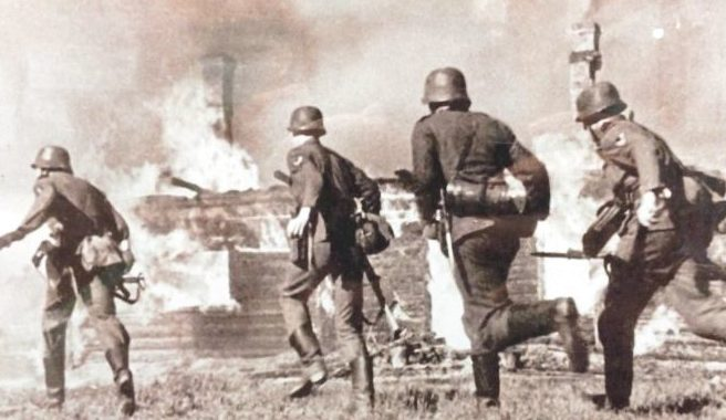 Бой за город. Июль 1941 г.