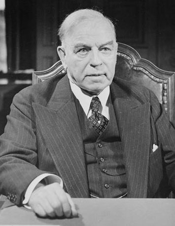 Премьер-министр Канады - Уильям Лион Маккензи Кинг.