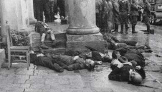 Расстрелянные евреи Житомира. 1941 г.