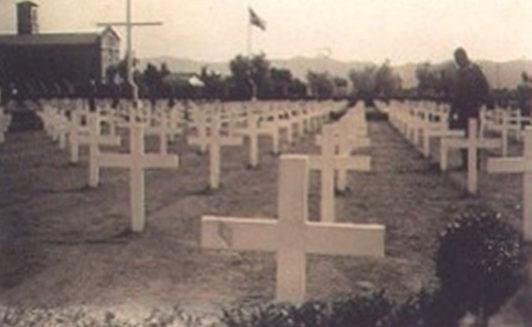 Пистойя – бразильское кладбище в Италии. 1945 г.