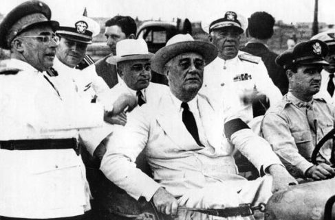 Президенты Жетулио Варгас и Франклин Рузвельт.