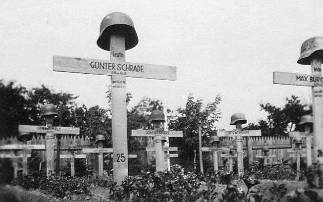 Немецкое кладбище. Июль 1941 г.