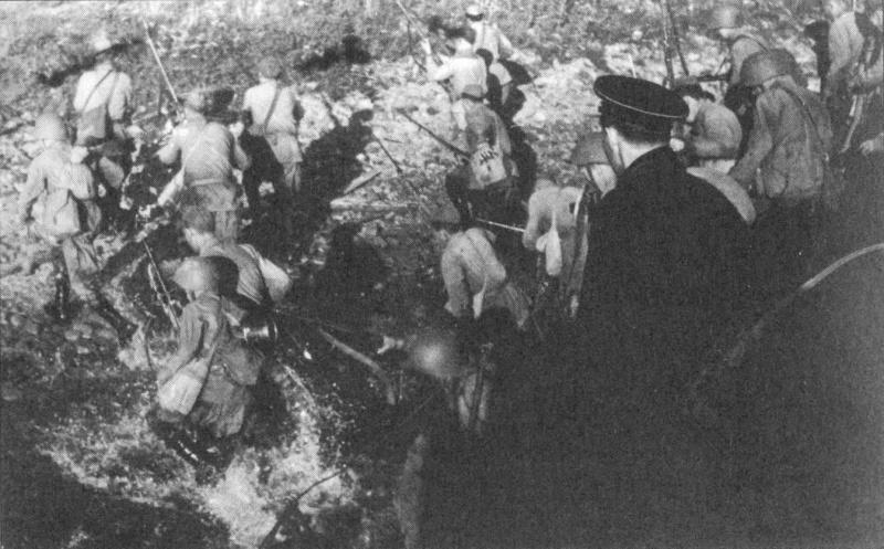 Высадка Усть-Тосненского десанта. 19 августа 1942 г.