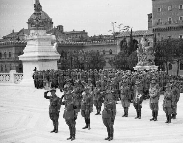 Командование дивизии «Пустерия» в Риме.