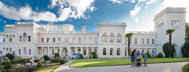 Ливадийский дворец, в котором размещалась делегации США во главе с Ф. Д. Рузвельтом.