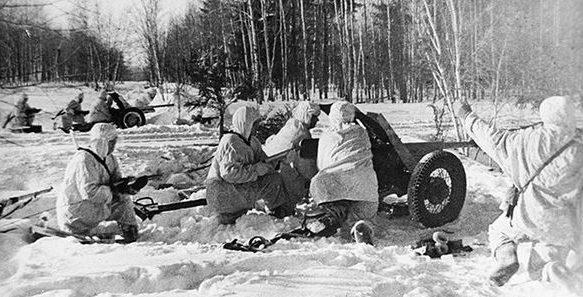 Красная Армия в наступлении.