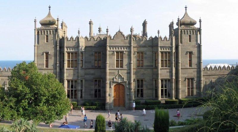 Воронцовский дворец, в котором размещалась делегация Великобритании во главе с У. Черчиллем.