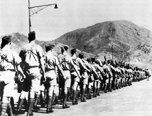 Канадцы, прибывшие на усиление гарнизона.