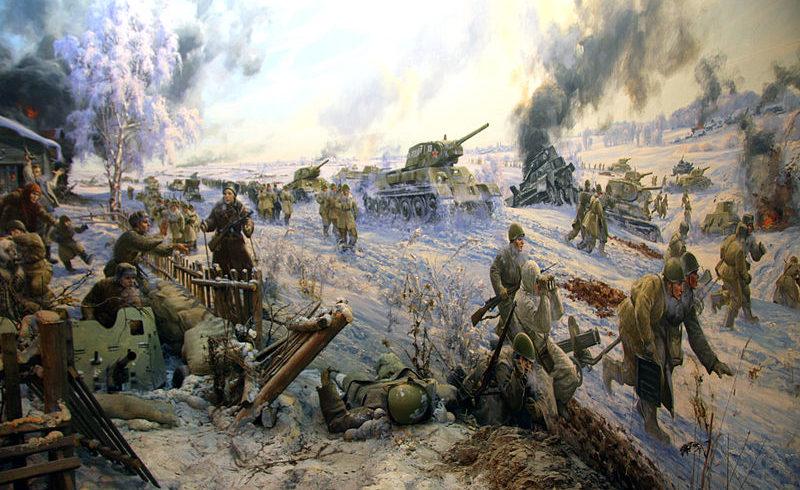 Диорама «Лобня. Наступление. 6.12.1941».