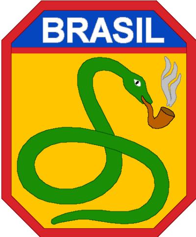 Нашивка Бразильского экспедиционного корпуса в Италии (FEB).