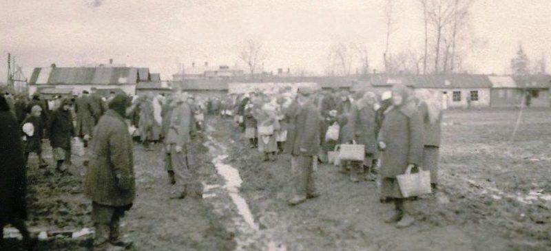 Базар во время оккупации. Сентябрь 1941 г.