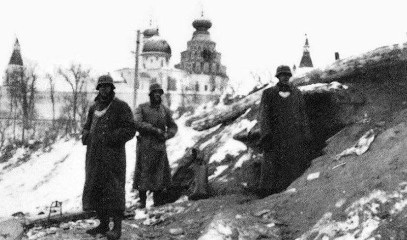 Немцы в Истре.
