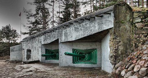 Артиллерийский полукапонир в Сестрорецке.