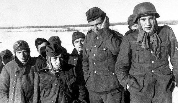 Первые военнопленные немцы в Туле.