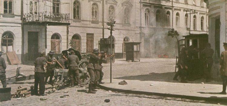 Городские бои. Июль 1941 г.