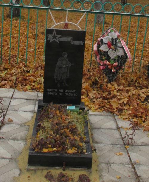 с. Ледовское Советского р-на. Братская могила советских воинов, погибших в боях с фашистскими захватчиками в 1942 г.