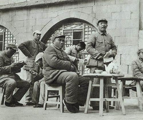 Чжу Дэ в Яньане. 1940 г.