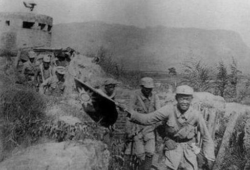 Китайские солдаты во время стодневного наступления. 1940 г.