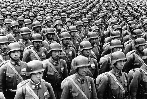 Китайские курсанты в парадной форме. 11 июля 1940 г.