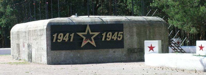 ДОТ №124. Сестрорецк, Приморское шоссе, 37-й км, воинское мемориальное кладбище.