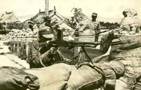 Солдаты китайской националистической армии в бригаде Марко Поло. 1937 г.