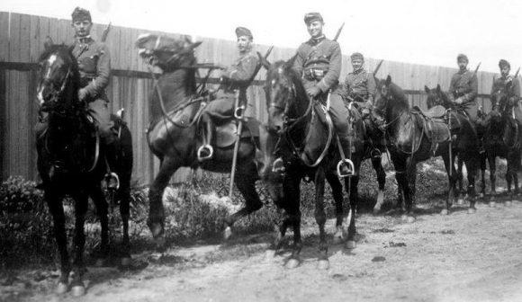 Венгерские кавалеристы.