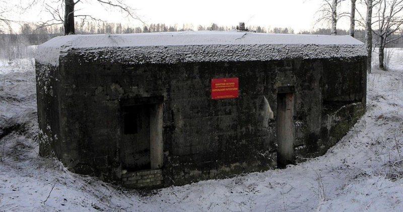 ДОТ № 630. Ленинградская область, Всеволожский район, юго-западнее озера Лемболовское.