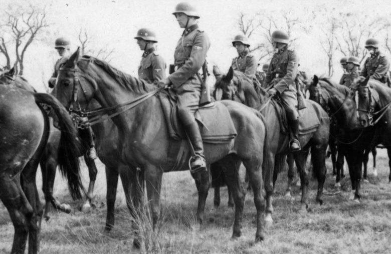 Кавалерийская бригада СС на Восточном фронте.