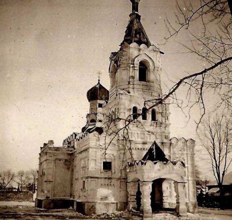 Улицы города. 1942 г.