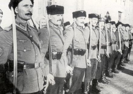 Русские казаки на службе в СС.