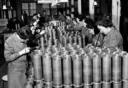Оружейный завод. Монреаль, март 1941 г.