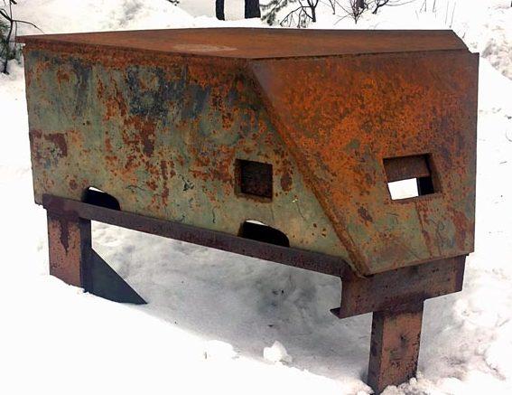 Бронированные огневые точки. Производилась на Ижорском и Сестрорецком оружейных заводах в 1942 году.