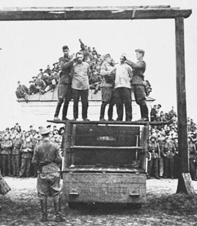 Казнь на Сенном базаре. 7 августа 1941 г.