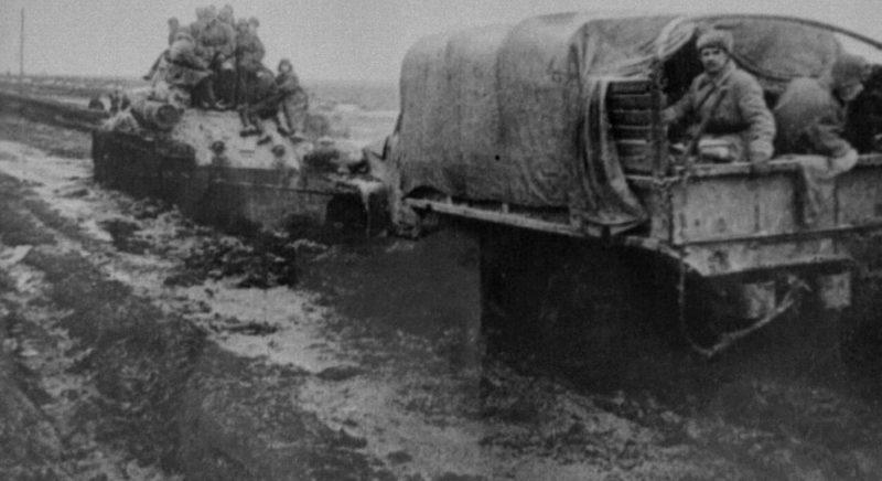 Красная Армия на подступах к городу. Март 1944 г.