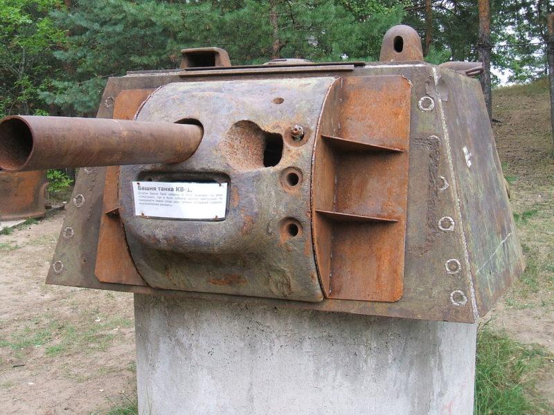 Башня танка «КВ-1».