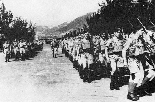 Канадские войска прибывают в Гонконг. 16 ноября 1941 г.