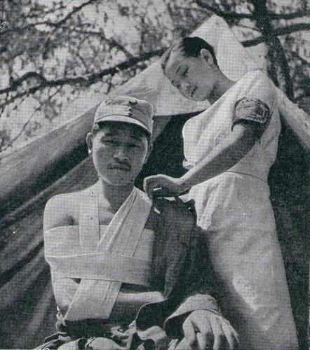 Медсестра. Шанхай 1937 г.