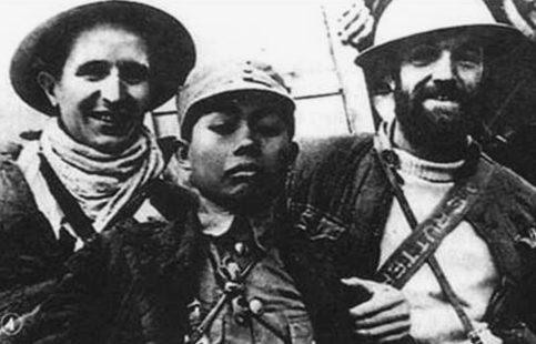 Британские и китайские солдаты в Бирме. 1942 г.