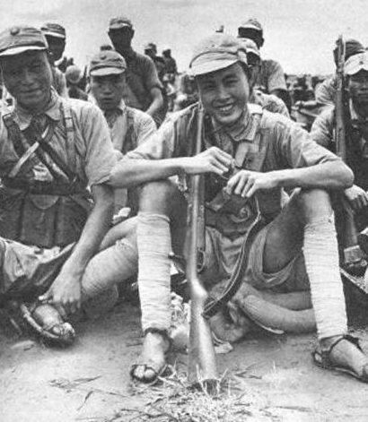 Китайские солдаты на Бирме. 1942 г.
