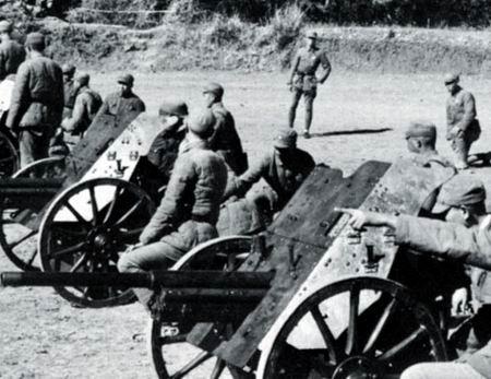 Противотанковые орудия РАК-36. 1937 г.