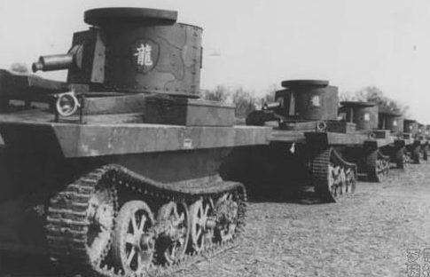 Китайские танки. 1937 г.