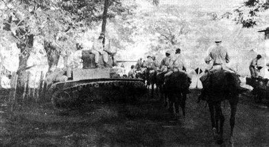 Американские кавалеристы на Филиппинах. 1942 г.