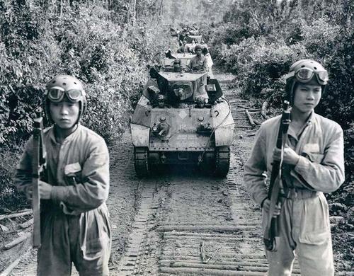 Средний танк М2. Бирма, 1942 г.