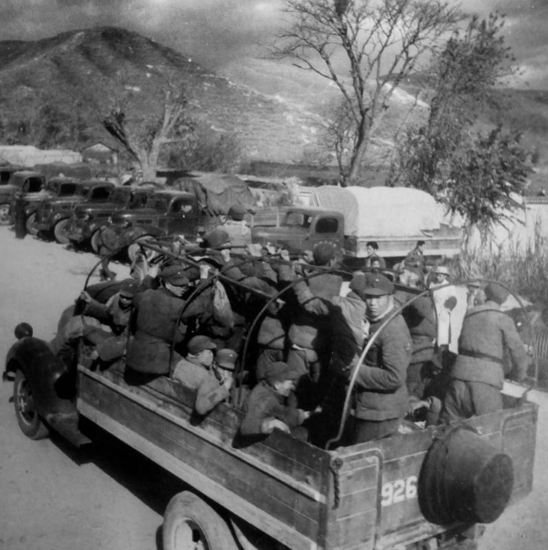 Армейский лагерь вблизи китайско-бирманской границы. 1942 г.