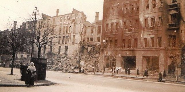 Город в оккупации. 1941 г.