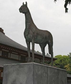 Памятник миллиону павших лошадей (Монголия).
