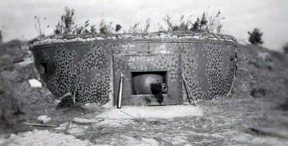 Огневые точки Полоцкого УРа в июне 1941 г.