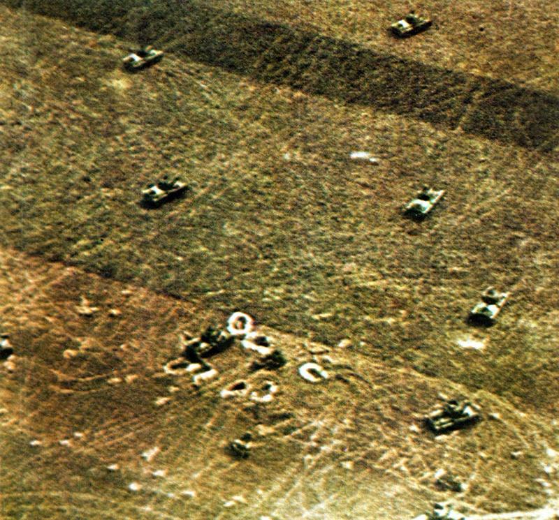 Танковый бой под Сталинградом. Июль 1942 г.