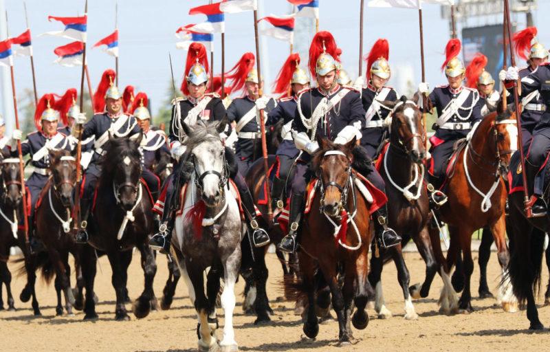 Конная гвардия генерал-губернатора Канадского полка кавалерии.