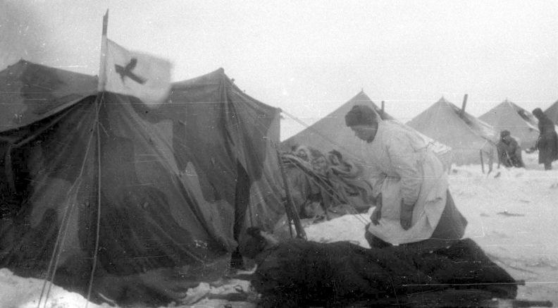Советский госпиталь. 1942 г.